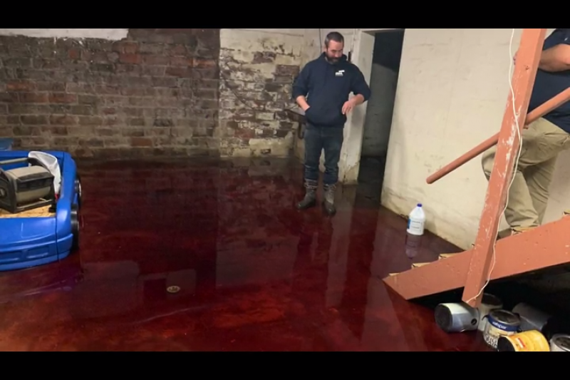 Iowa family discovers horrifying basement filled with blood