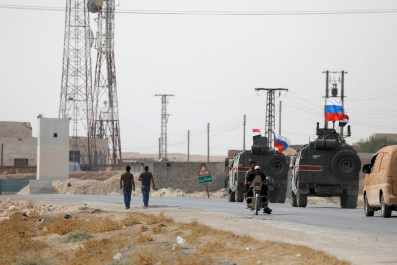 Russia replaces US in northern Syria