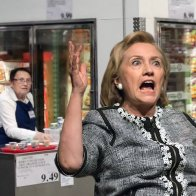 Hillary Clinton Asked To Leave Costco After Repeatedly Accusing Sample Lady Of Being A Russian Asset