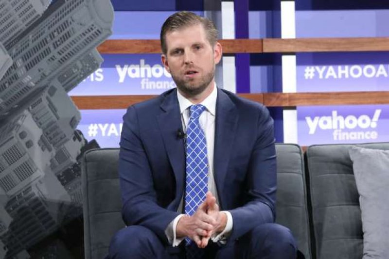 Eric Trump Complains That 'Every Family in Politics Enriches Themselves,' Saying 'It Is Sickening'