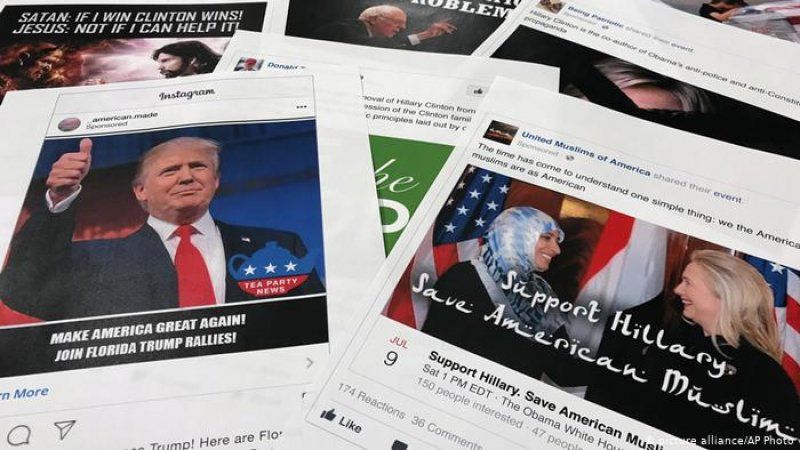 Facebook bans fake Russian accounts targeting US voters