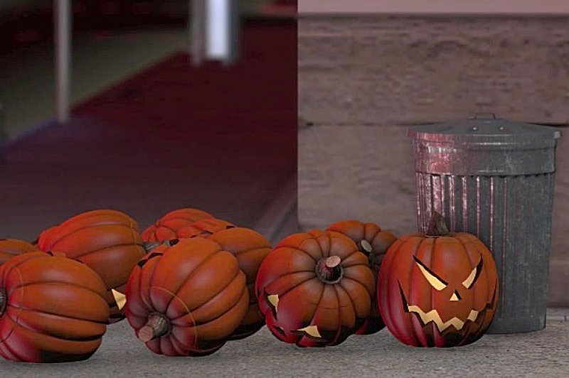 The scary waste of Halloween pumpkins