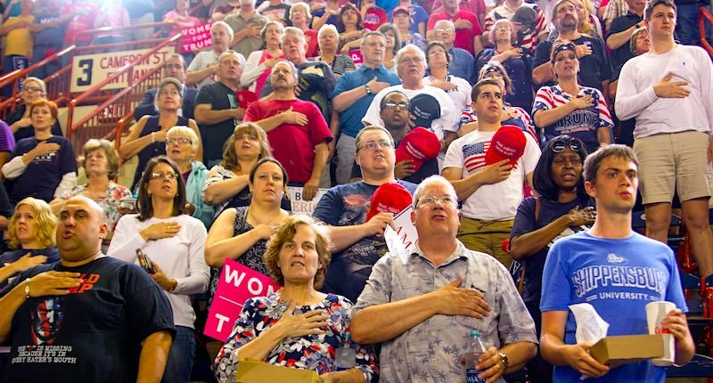 Trump supporters are addicted to his chaos and lies — and pose a growing risk of violence as the president becomes cornered: political scientist