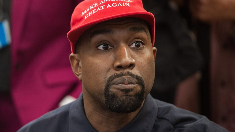 Kanye West, with his debt piling up, thanks God for his $68-million tax refund