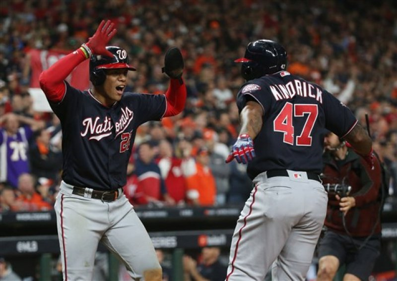 Washington Nationals beat Houston Astros in Game 7 to win franchise's first World Series