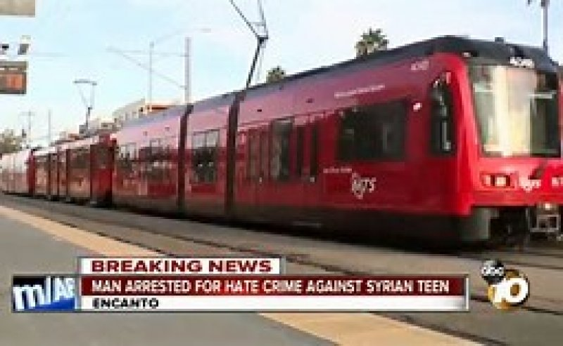 What trash are you speaking?': A San Diego man beat a Syrian refugee teen for talking in Arabic