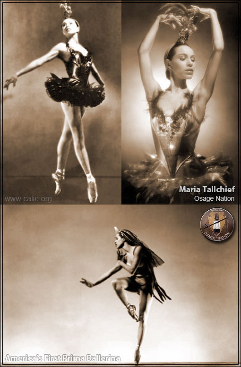 MARIA TALLCHIEF ''Americans first Prima Ballerina'' Native American Heritage Month