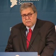 Calls for AG Barr's Impeachment Intensify After 'Lunatic Authoritarian' Federalist Society Speech