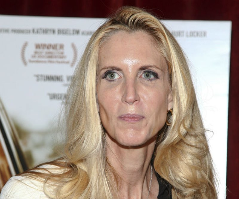 Ann Coulter Has Never Looked Uglier
