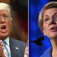 Warren vs Trump
