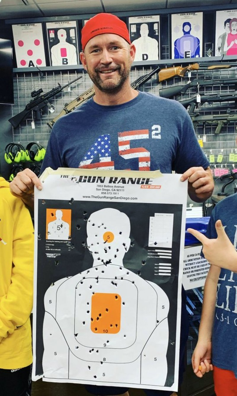 """Dad Brags About The """"Head Shots"""" His 9 and 11 Year Old Sons Scored At The Gun Range"""