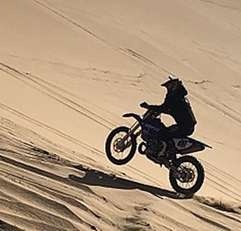 Motorcycle enthusiast sets Guinness World Record