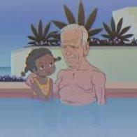 Joe Biden says the darndest things Cartoon
