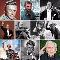 Happy 103rd Birthday🎂to the cleft-chinned, steely-eyed archetypal Hollywood movie star of the postwar era, #KirkDouglas