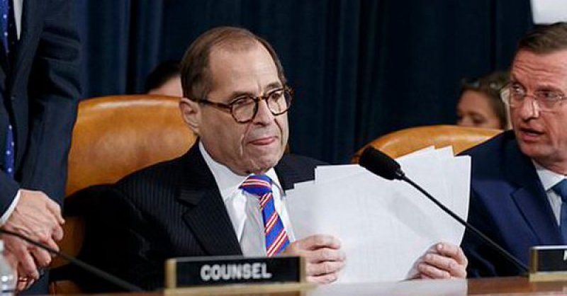 Image result for Nadler Failed to Swear in Witnesses at Judiciary Impeachment Hearings