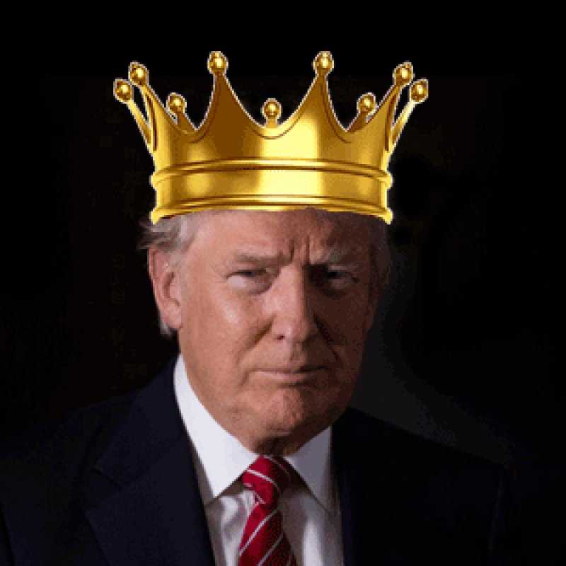 """Give us a king to lead us!"" And they got Trump."