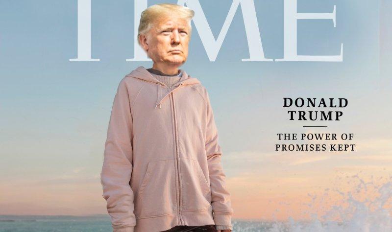 Trump Campaign Pastes President's Head on Greta Thunberg's Body