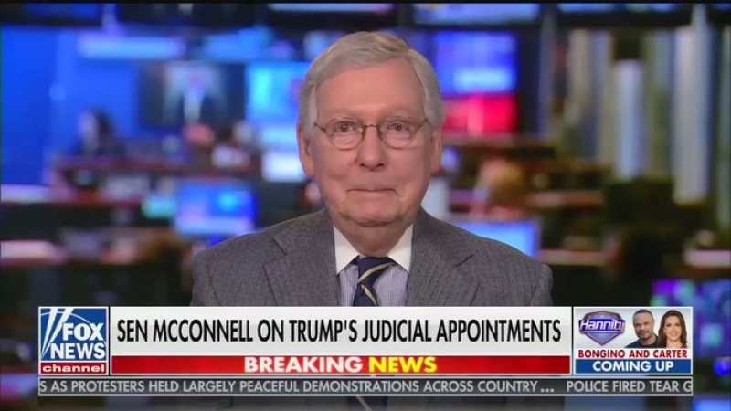 Mitch McConnell Brags About Blocking Obama For 2 Years, Then Laughs About It