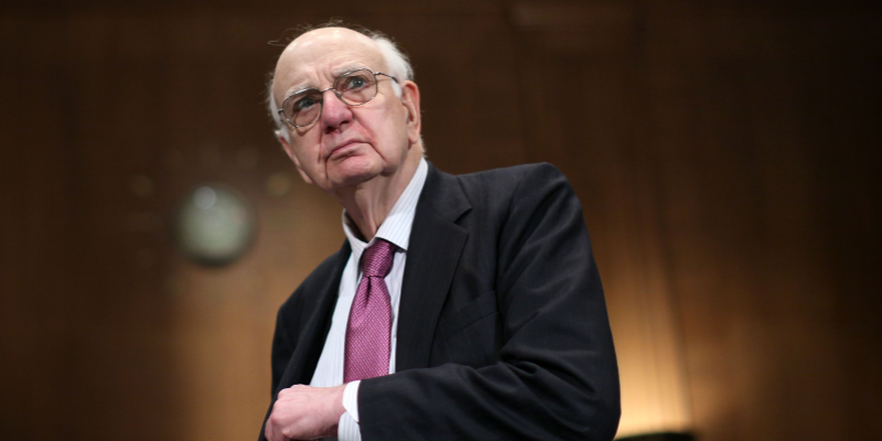 Before his death, legendary Fed chief Paul Volcker issued one last warning to the US