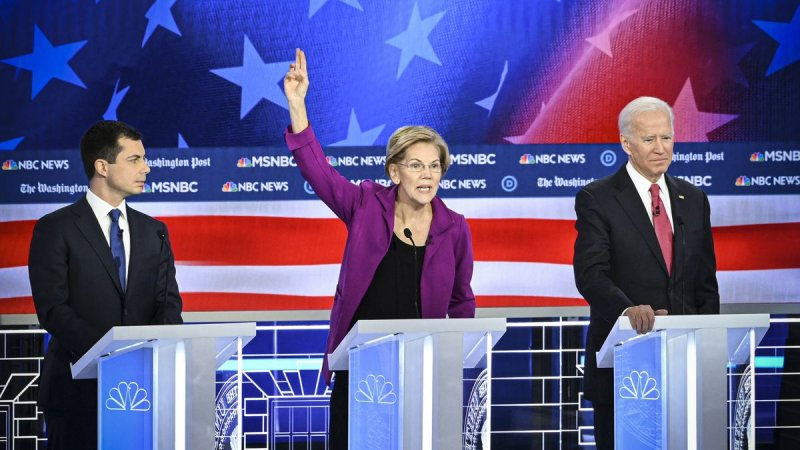 'Billionaires in wine caves should not pick the next president': Warren vs. Buttigieg on purity tests, explained