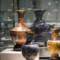 Time-honored cloisonné enamel enjoys modern revival