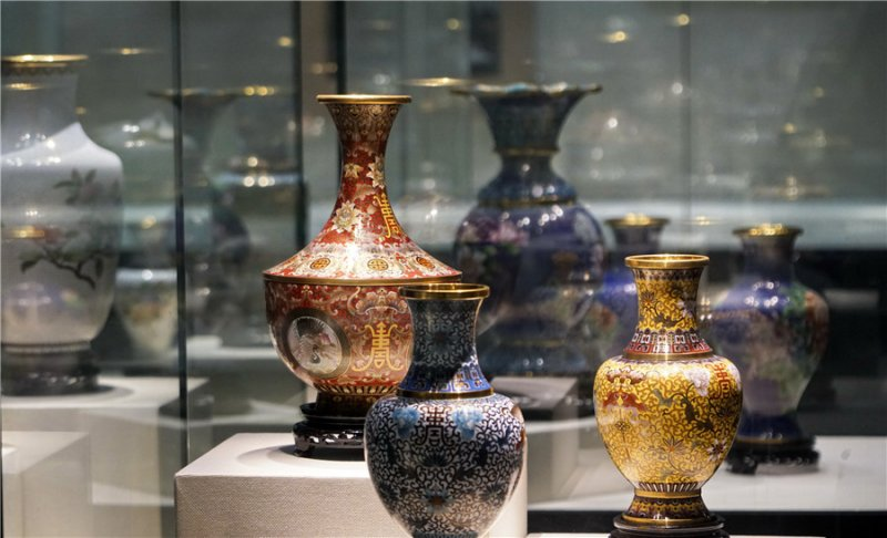 Time-honored cloisonné enamel enjoys modern revival