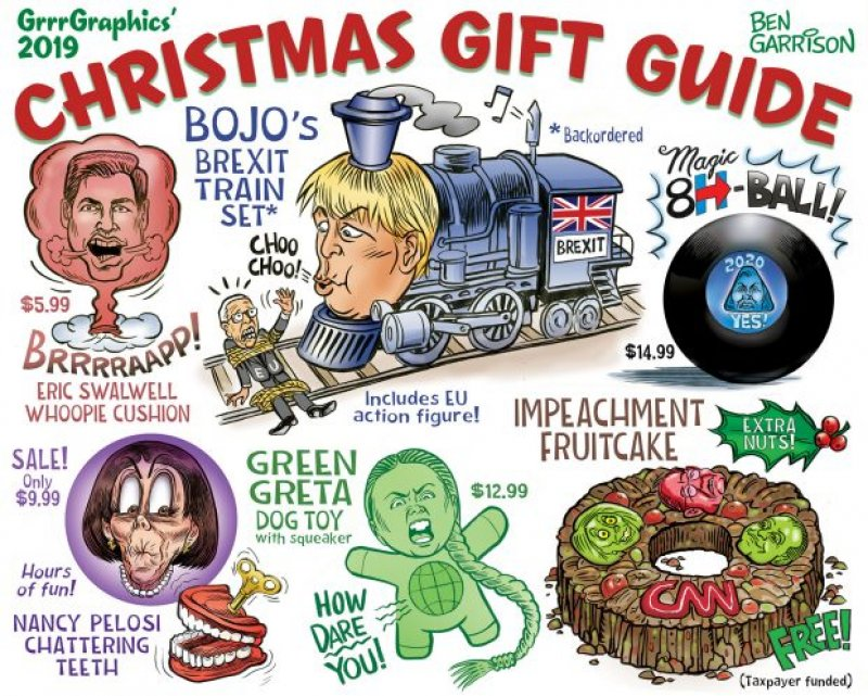 Thank You Democrats for the Best Christmas Ever!