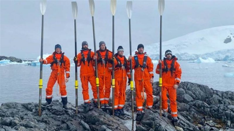 Colin O'Brady leads first human-powered crossing of Drake Passage