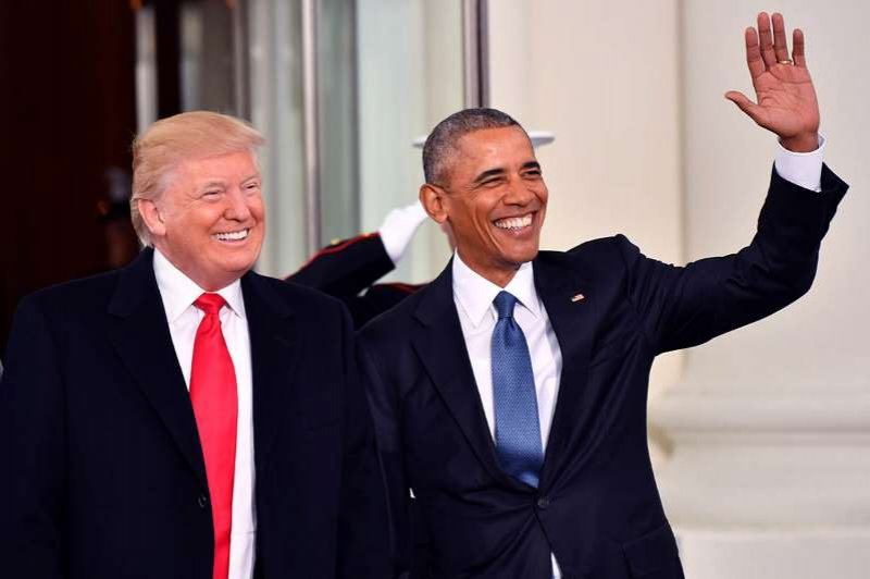Trump, Obama tie for Americans' most-admired man