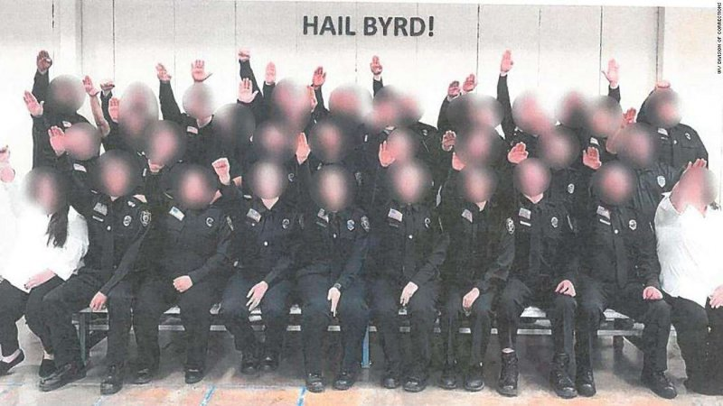 All the West Virginia cadets pictured giving a Nazi salute will be fired, governor says