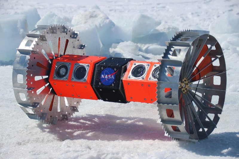 This Robot's Journey to an Icy Alien Moon Starts Beneath Antarctica