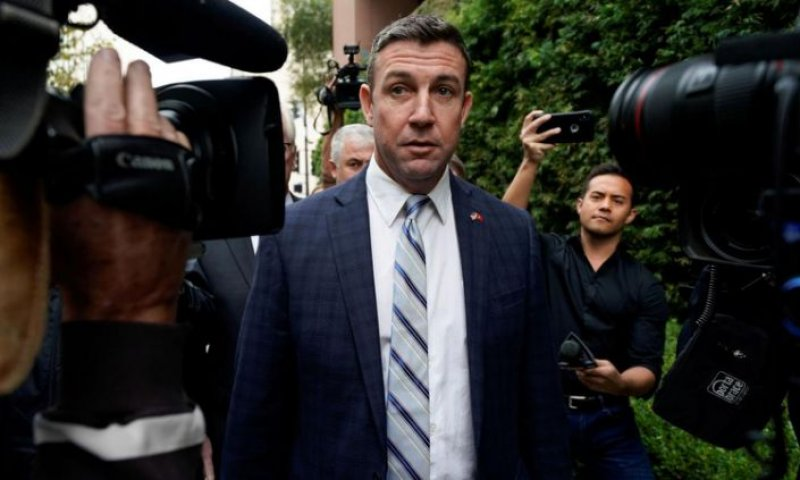 Rep. Duncan Hunter Resigns After Pleading Guilty To Stealing Campaign Donations