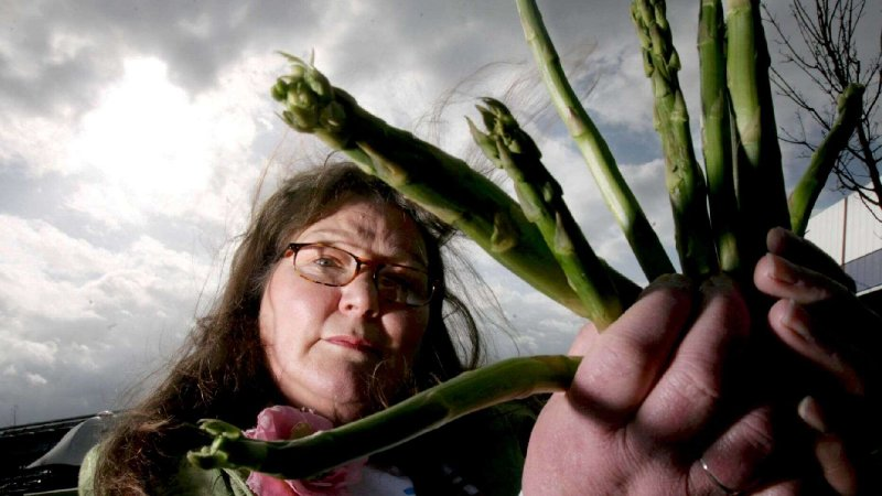 Woman claims she predicted Harry and Meghan Markle splitting from royal family by reading asparagus spears