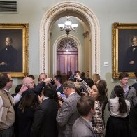 Senate weighs restricting reporters during Trump impeachment trial