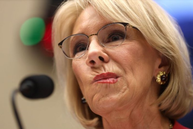 Teachers union sues Betsy DeVos for overturning Obama-era rule