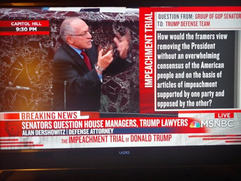 Alan Dershowitz reputation is shot to hell