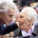 Michael Douglas says some of Kirk Douglas's 'last words' were backing Bloomberg