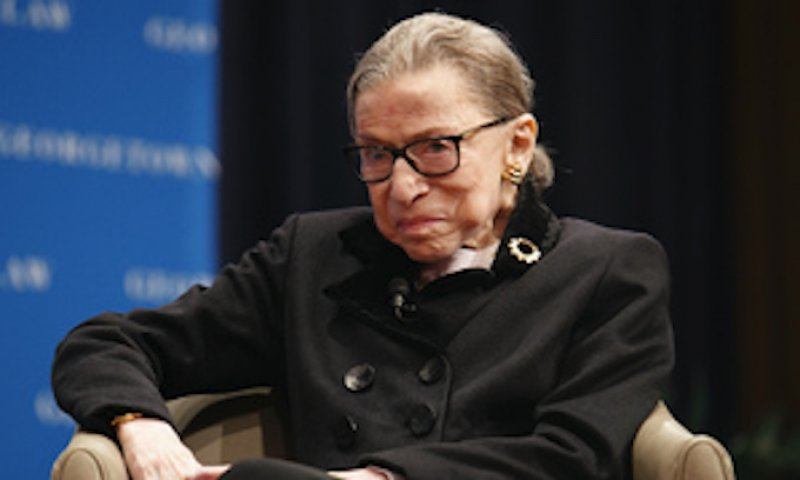 Ginsburg: Equal Rights Amendment Supporters Should Start Over
