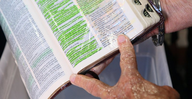 The Bible That Oozed Oil