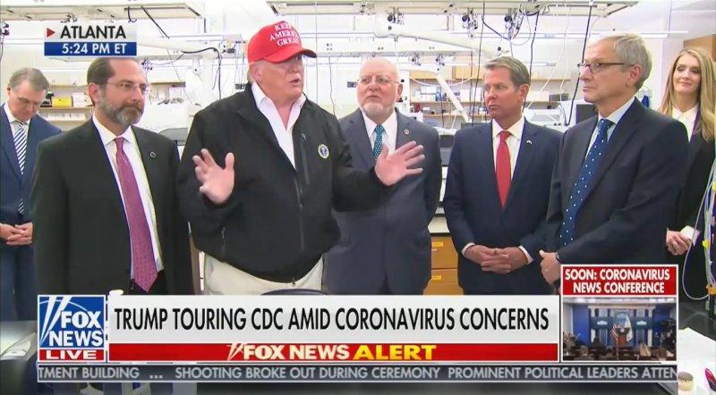 New Poll: 43 Percent Approve of Trump's Handling of Coronavirus Response