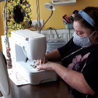 Belgian With 20% Lung Capacity Starts Home Mask Sewing Army