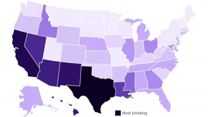 Texans rank No. 1 in drinking the most alcohol during the coronavirus outbreak, data shows