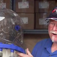 Texas 'mom and pop' business flooded with orders for helmet ventilators amid coronavirus crisis