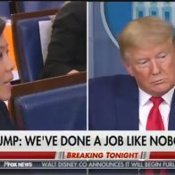 OMG Just Watch: Trump Shuts Down Partisan Reporter During COVID-19 Briefing