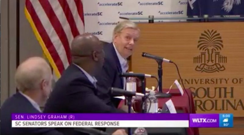 Lindsey Graham Vows GOP Will Fight Extending Covid Unemployment