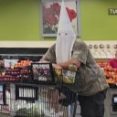 Man who wore KKK hood at California grocery store may be charged with hate crime, authorities say