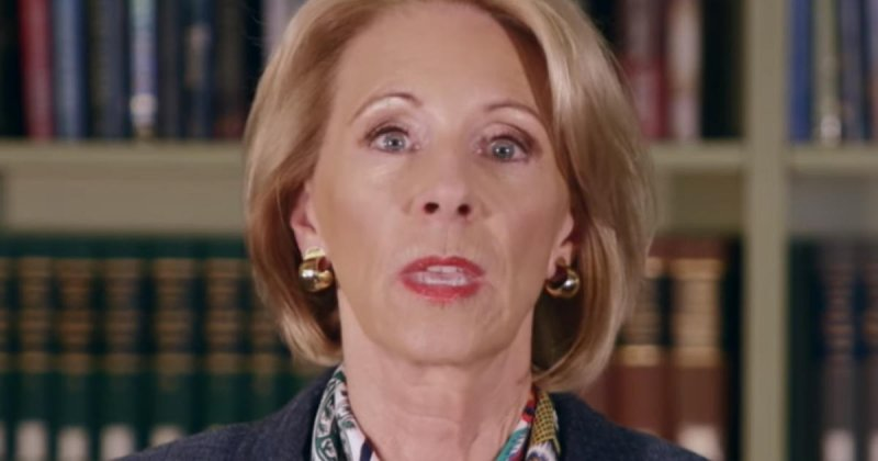 New campus sexual assault rules give accused students more rights, Betsy DeVos says - CBS News