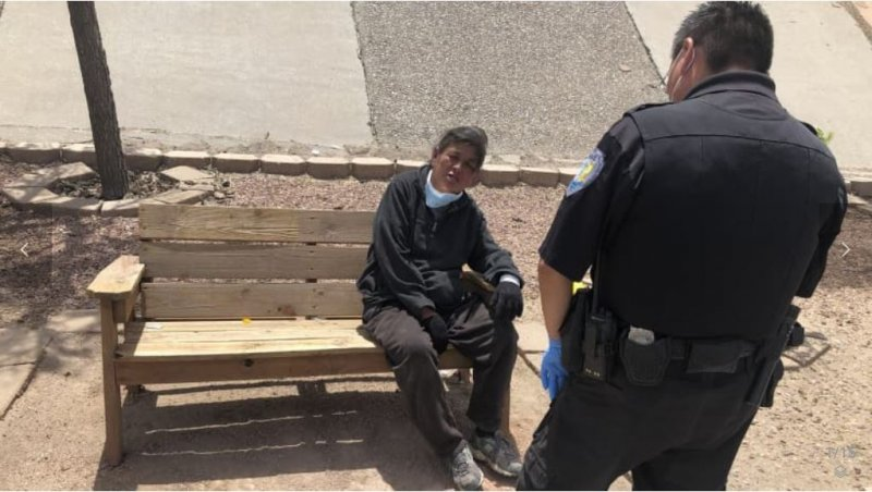 Extreme Lockdown Shows Divide In Hard-Hit Navajo Border Town