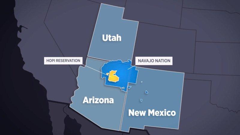 Navajo Nation residents face coronavirus without running water
