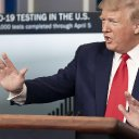 Trump's approval rating holds steady in past month during coronavirus, Just the News poll shows | Just The News